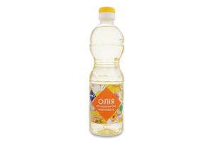 Олія соняшникова рафінована дезодорована виморожена Премія п/пл 0.5л