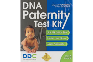 DDC DNA Paternity Test Kit Legally Admissible For New York Residents