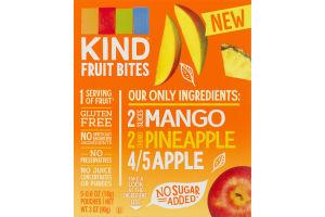 KIND Fruit Bites Mango, Pineapple and Apple - 5 CT