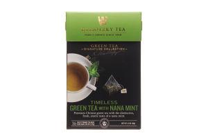 Чай зеленый Wissotzky Tea с марокканскоюй мятой