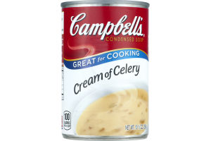 Campbell's Condensed Soup Great For Cooking Cream Of Celery