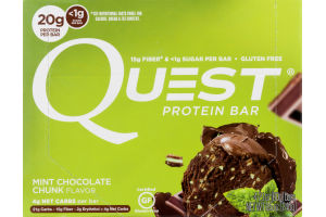 Quest Protein Bar Mint Chocolate Chunk - 4 CT