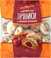 Пряники Київхліб Фруктовий сад з вишневою нач 360г х10