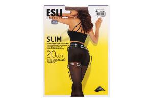 Колготки жіночі Esli Slim №8С-63СПЕ 20den 4-L visone