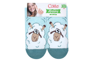 Шкарпетки жіночі Conte Happy №18С-268СП 23-25 423 блідо-бірюзовий