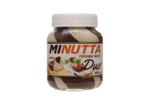 Паста Премія Minutta Duo ореховая