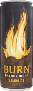 Напій енергетичний безалкогольний сильногазований Lemon Ice Burn з/б 250мл