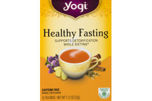Yogi Healthy Fasting Tea - 16 CT
