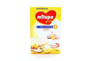 Каша молочная рисовая с абрикосом Milupa Nutricia к/у 230г