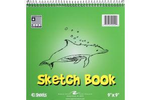 "Roaring Spring Sketch Book 9""x9"" - 40 Sheets"