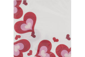 Smart Living Napkins Valentine Hearts - 16 CT