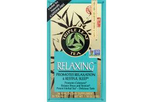 Triple Leaf Tea Relaxing Tea - 20 CT