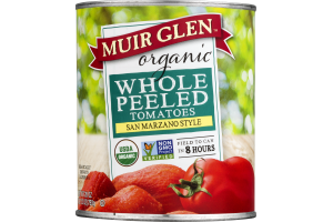 Muir Glen Organic Whole Peeled Tomatoes San Marzano Style
