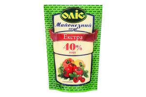 Соус майонезный 40% Экстра Оліс д/п 170г