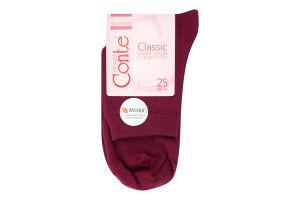 CONTE Шкарпетки жіночі Classic 13С-64СП р.25 000 ліловий