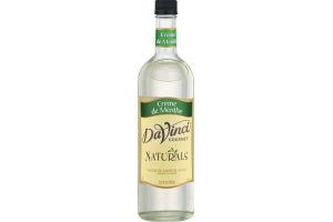 DaVinci Gourmet Naturals Creme De Menthe Syrup