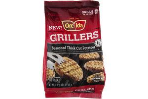 Ore-Ida Grillers Potatoes Seasoned Thick Cut