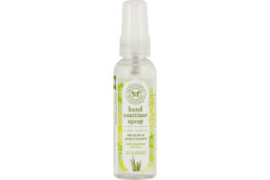 The Honest Co. Hand Sanitizer Spray Lemongrass With Aloe