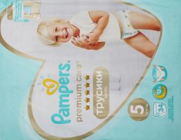 Підгузники трусики pants 12-17кг Premium Care Pampers 34шт