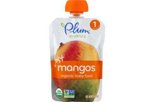 Plum Organics Just Mangos Organic Baby Food