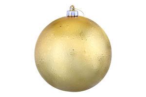 Прикраса новорічна Куля пластиковий Mislt 1шт