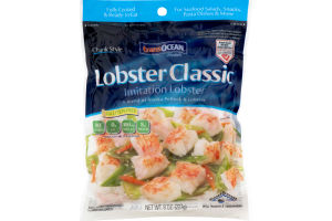 TransOcean Lobster Classic Imitation Lobster Chunk Style