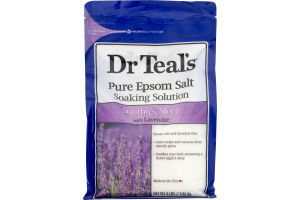 Dr Teal's Pure Epsom Salt Soaking Solution Soothe & Sleep With Lavender