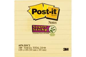 Post-it Notes Super Sticky - 3 PK