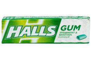 Резинка жевательная без сахара со вкусом мяты и ментола Halls м/у 14г