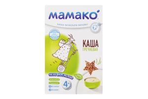 Каша гречневая на козьем молоке для детей от 4мес Мамако к/у 200г