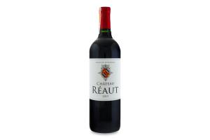 Вино 0.75л 13.5% червоне сухе Chateau Reaut пл