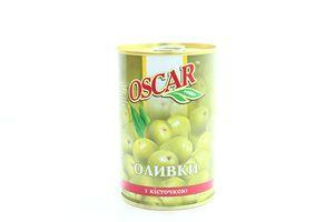 Оливки с косточкой Oscar ж/б 300г