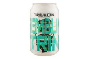 Пиво 0.33л 7.4% светлое нефильтрованное непастеризованное Trembling String Beermaster Brew ж/б
