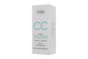 CC-крем для чутливої шкіри Ziaja 50мл