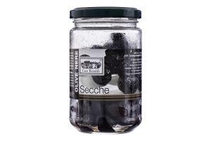 Оливки чорні сушені з кісточкою без олії Casa Rinaldi с/б 170г