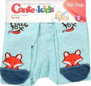 CONTE-KIDS TIP-TOP Колготи дитячі р.80-86 440 блідо-бірюзовий