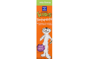 Kiss My Face Obsessively Kids Toothpaste Dentifrice with Fluoride Berry Smart