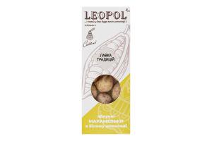 Марамельки яблочные в белом шоколаде Leopol к/у 50г