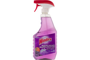 Windex Cleaner Multi Surface Glade Lavender & Peach Blossom