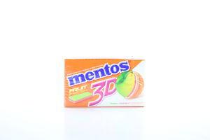 Гумка жувальна Mentos 3D лим.грей.ап.33г