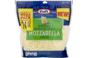 Kraft Shredded Low-Moisture Part-Skim Cheese Mozzarella