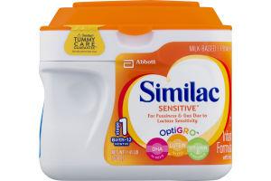 Similac Sensitive OptioGro Infant Formula With Iron Stage 1