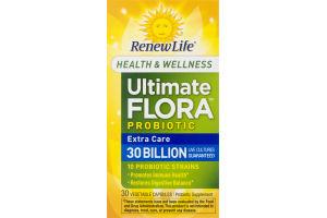 RenewLife Ultimate Flora Probiotic Extra Care - 30 CT