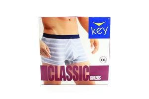 Шорти Key Classic чоловічі 1шт XXL MXH 353