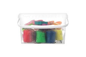 Набір для творчості для дітей від 3років №TA1068V Тісто-пластилін 12 кольорів Genio Kids 1шт