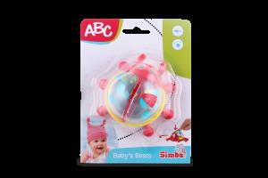 Погремушка для детей от 6 месяцев Солнышко ABC Simba 1шт