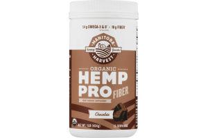 Manitoba Harvest Organic Hemp Protein Plant Based Protein Supplement Dark Chocolate