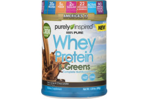 Purely Inspired Whey Protein & Greens Decadent Chocolate