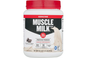 Muscle Milk Genuine Protein Powder Cookies 'N Creme