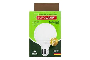 Лампа светодиодная 15W E27 4000K Ecological Eurolamp 1шт